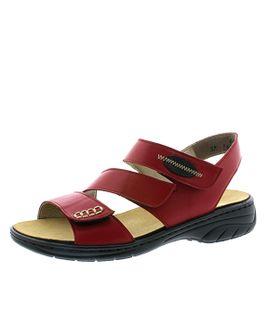 6d0aec32d5 Rieker sandále QR952230080 bordová