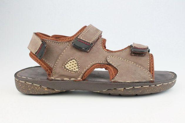 John Garfield sandále MR762167044 hnedá