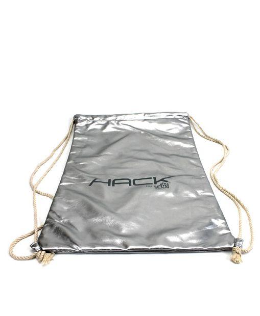 HACKERS vrecko DV709005015 strieborná