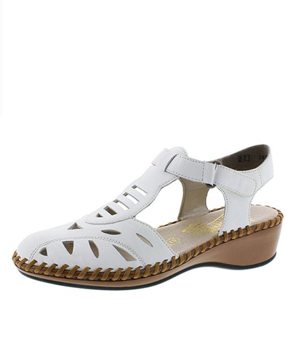 2e692e47eb2c Rieker sandále QR952221010 biela - JohnGarfield.sk