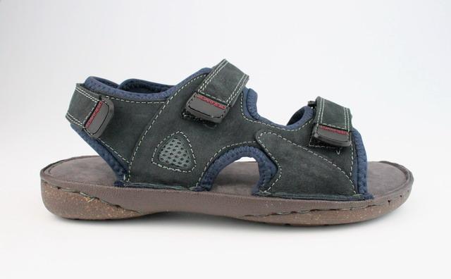 John Garfield sandále MR762167099 modrá